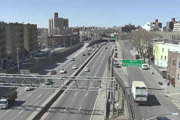 Cross Bronx Exp (CBE-12) SB at Ellis Ave (Ex4B) (1149) - New York City