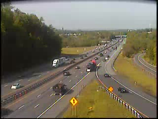 I-87 at Interchange 14A (Garden State Parkway) (1ml02350s NYT) - New York City