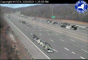 I-87 just south of Interchange 15A (1ml03090s NYT) - New York City