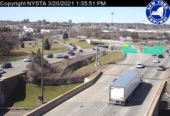 I-95 at Interchange 9 (1ne00055n NYT) - New York City