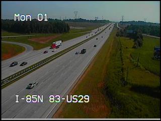 I-85 at US-29 (2500) - North Carolina