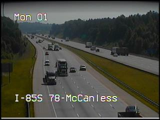 I-85 at McCanless Rd (2657) - North Carolina
