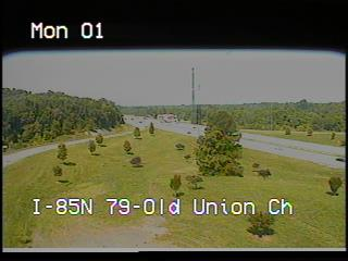 I-85 at Old Union Church Rd (2658) - North Carolina