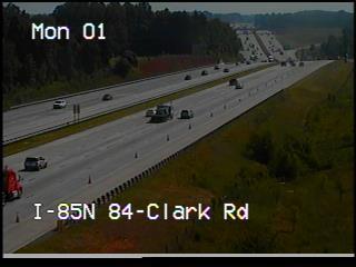 I 85 at Clark Rd (2994) - USA