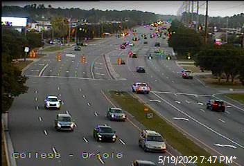 US 117/NC 132 (College Rd) at Oriole Dr  - New Hanover (408) - USA
