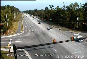 US 74 (Eastwood Rd) at Cavalier Dr  - New Hanover (399) - USA