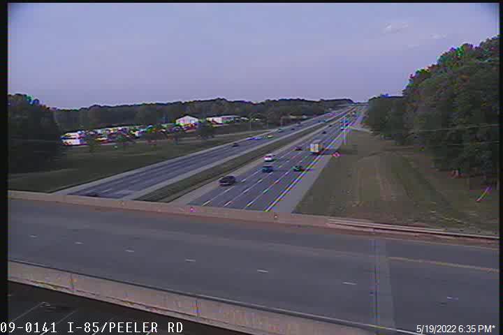 I-85 at Peeler Rd - Rowan (477) - USA