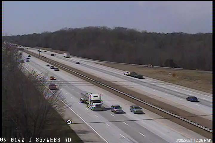 I-85 at Webb Rd - Rowan (478) - USA