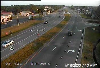 US 421 (Carolina Beach Rd) at Sanders Rd  - New Hanover (394) - USA