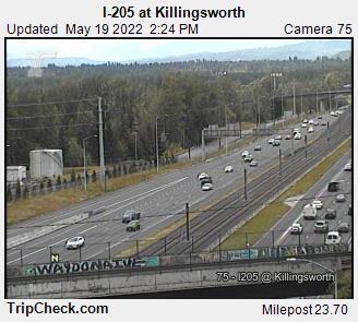 I-205 at Killingsworth (102) - Oregon