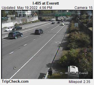 I-405 at Everett (108) - USA