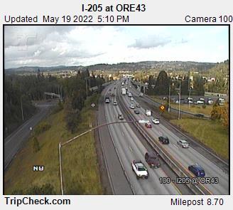I-205 at ORE43 (287) - USA