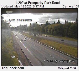 I-205 at Prosperity Park Road (292) - Oregon