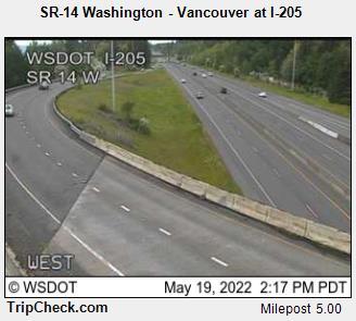 SR-14 Washington - Vancouver at I-205 (313) - USA