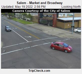 Salem - Market and Broadway (513) - Oregon