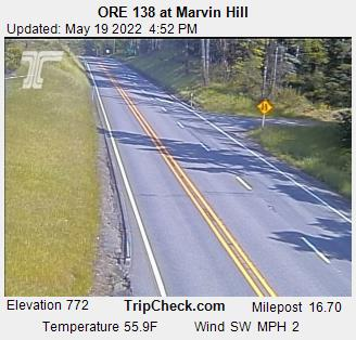 ORE 138 at Marvin Hill (538) - Oregon