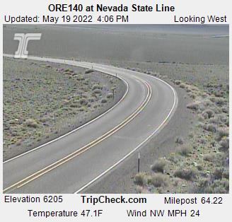 ORE140 at Nevada State Line (579) - USA