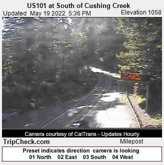 US101 at South of Cushing Creek (701) - Oregon