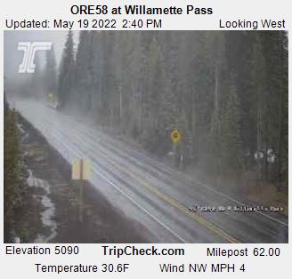 ORE58 at Willamette Pass (721) - USA