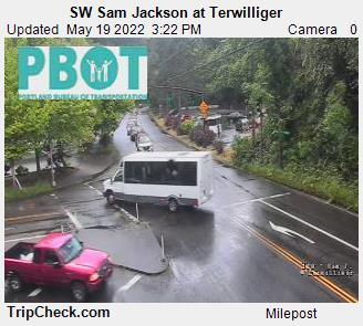 SW Sam Jackson at Terwilliger (805) - Oregon