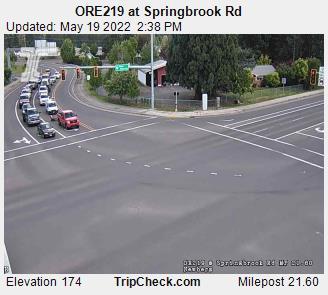 ORE219 at Springbrook Rd (819) - Oregon