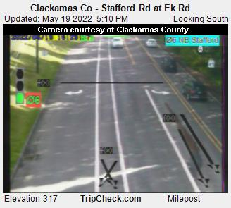 Clackamas Co - Stafford Rd at Ek Rd (823) - USA