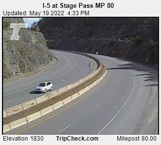 I-5 at Roberts Mountain SB (1014) - Oregon