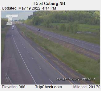 I-5 at Coburg NB (1029) - Oregon