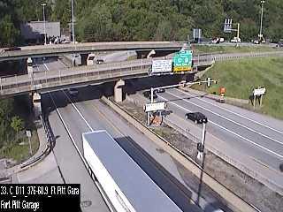I-376 (Penn Lincoln Pkwy) @ Fort Pitt Garage (CAM-11-017) - Pennsylvania