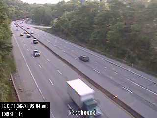 I-376 (Penn Lincoln Pkwy) s/o Ardmore Blvd (CAM-11-054) - Pennsylvania