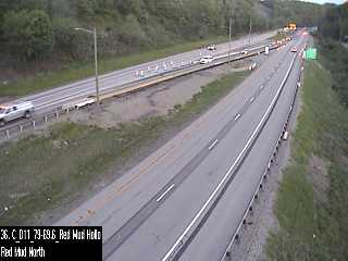 I-79 @ Red Mud Hollow Rd (CAM-11-122) - Pennsylvania