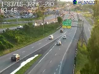 I-83/I-283/US-322/Eisenhower Blvd (Exit 46) (CAM-08-016) - USA