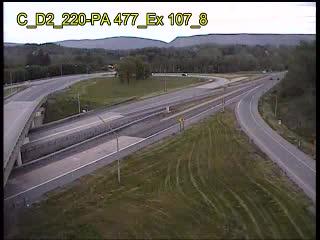SR 477 at Exit 107 (CAM-02-045) - Pennsylvania