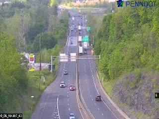 I-80 at PA 191 Exit 307 (CAM-05-042) - Pennsylvania