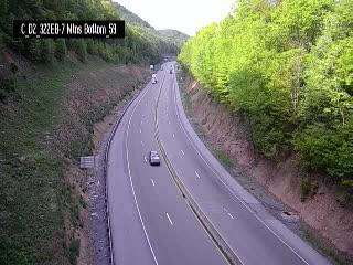 SR 322 Eastbound-runaway truck ramp (bottom 7 mtns) (CAM-02-049) - Pennsylvania