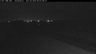 Alexandria - I-90 @ MP 348 - Camera Looking West - South Dakota