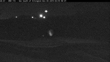 Arlington - 3 miles south of town along US-81 @ MP 115 - Camera Looking North - South Dakota
