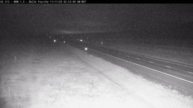 Belle Fourche - Northwest of town along US-212 @ MP 1.3 - Camera Looking East - South Dakota