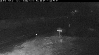 Belle Fourche - Northwest of town along US-212 @ MP 1.3 - Camera Looking West - South Dakota