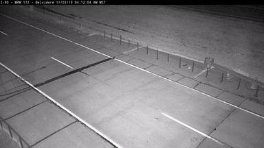Belvidere - 9 miles east of town along I-90 @ MP 172.5 - Camera Looking Southeast - South Dakota