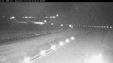 Belvidere - 9 miles east of town along I-90 @ MP 172.5 - Camera Looking West - South Dakota