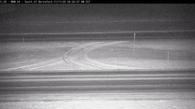 Beresford - 2 miles south of town along I-29 @ MP 44 - Road Surface View - South Dakota