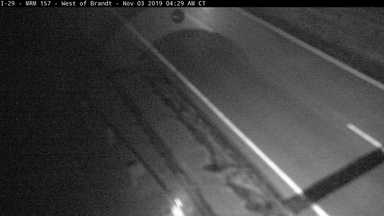 Brandt - West of town along I-29 @ MP 157 - Camera Looking East - South Dakota