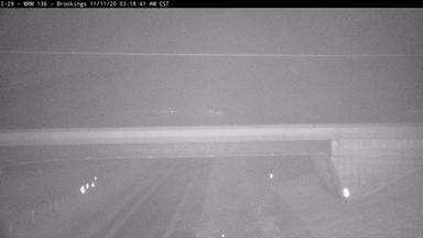 Brookings - North of town along I-29 @ MP 135.9 - Camera Looking South - South Dakota