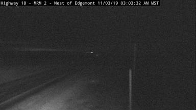 Edgemont - West of town along US-18 @ MP 1.7 - Camera Looking West - South Dakota