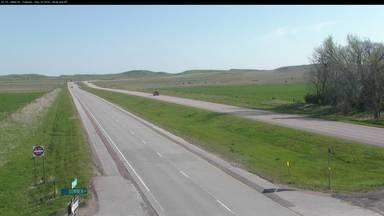 Fairburn - along SD-79 - Camera Looking North - South Dakota