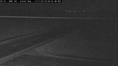 Foster Bay - near Cheyenne River along SD-63 @ MP 140 - Camera Looking South - South Dakota