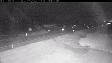 Frederick - North of town along US-281 near ND border - Camera Looking North - South Dakota