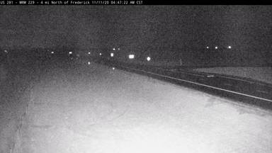 Frederick - North of town along US-281 near ND border - Camera Looking South - South Dakota