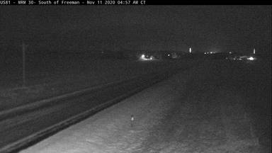 Freeman - 4 miles south of town along US-81 @ MP 30 - Camera Looking North - South Dakota